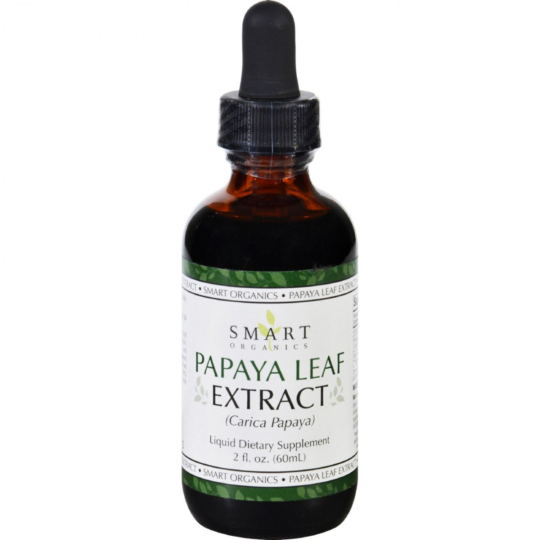 Bio Nutrition Inc Papaya Leaf Extract - Smart Organics - 2 oz