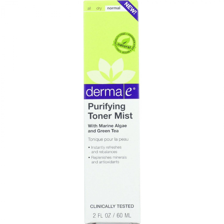 Derma E Toner Mist - Purifying - 2 oz - 1 each