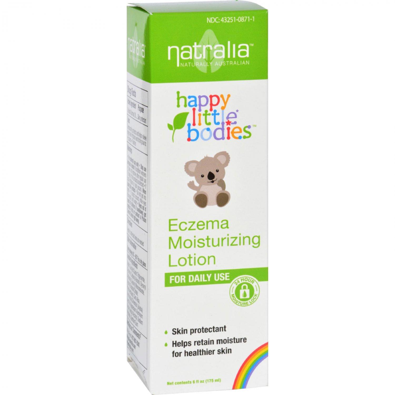 Happy Little Bodies Eczema Lotion - Natralia - Moisturizing - 6 oz