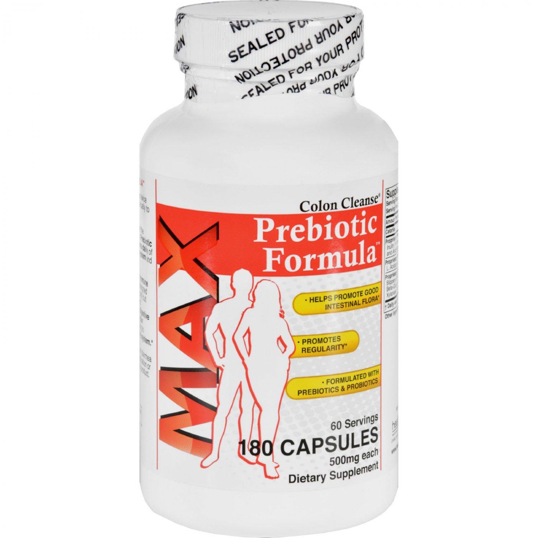 Health Plus Prebiotic Formula - Colon Cleanse Max - 180 Capsules