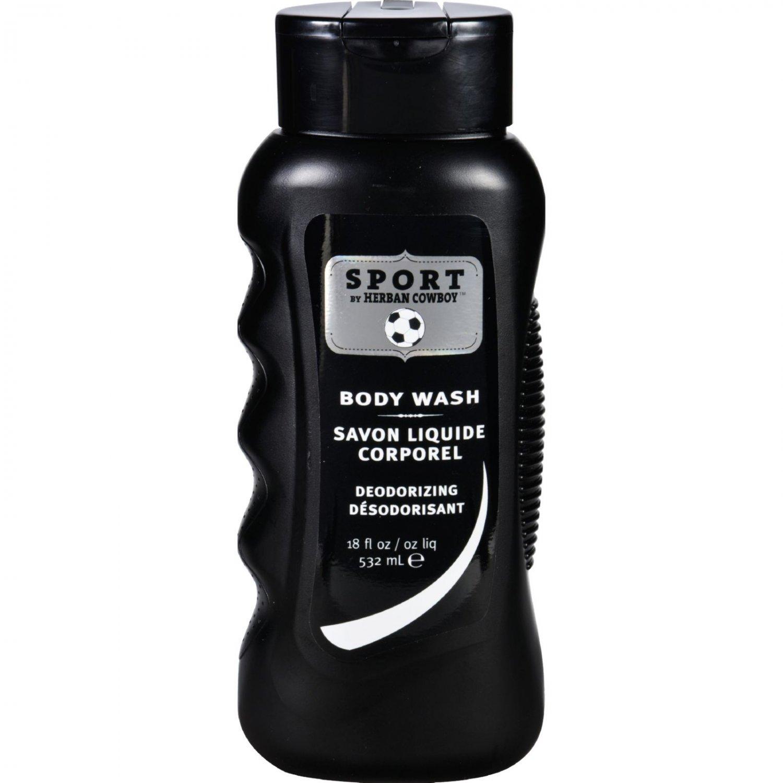 Herban Cowboy Body Wash - Sport - 18 oz