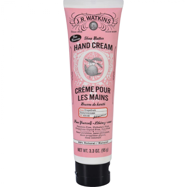 J.R. Watkins Hand Cream - Grapefruit - 3.3 oz