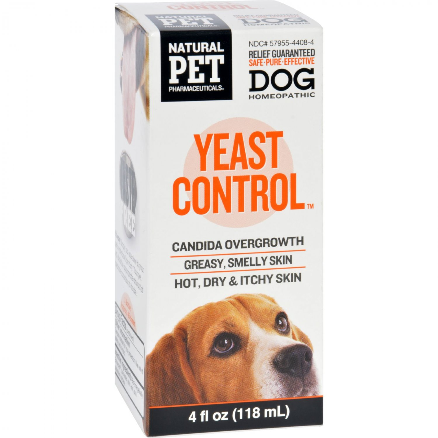 King Bio Homeopathic Yeast Control - Dogs - 4 oz