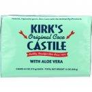 Kirks Natural Bar Soap - Coco Castile - Aloe Vera - 3 pack - 3/4 oz - 1 each