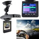 Wide Angle Lens HD Night Vision Car DVR Recorder Black