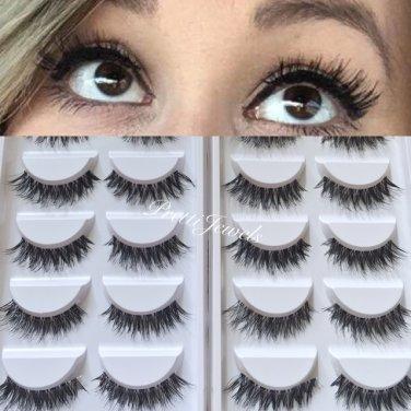 10 Pairs � Demi Wispy False Eyelashes
