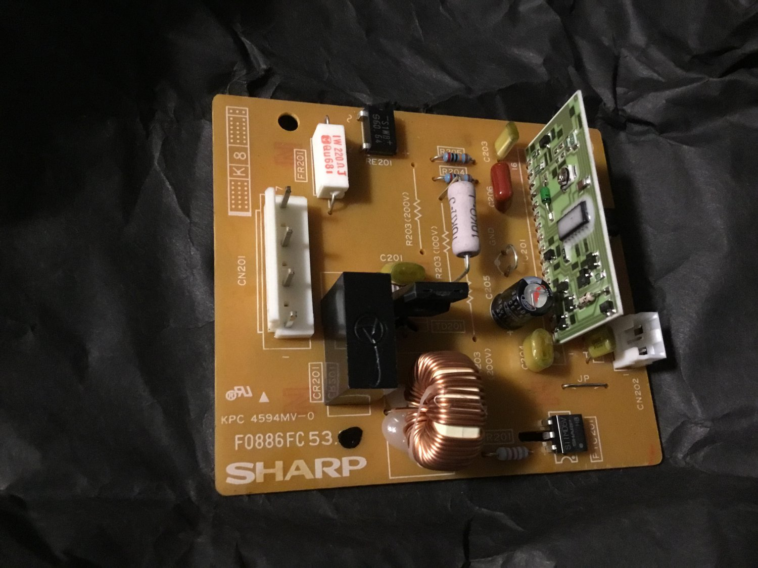 Sharp CPWBF0886FC53 pwb with IC for SF7370H