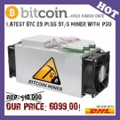 Latest 14nm Asic Miner BTC Miner USED Ebit E9 Plus 9T (with psu) Excellent economical miner!