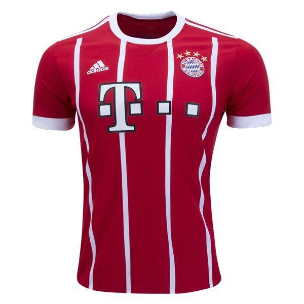 Men's Bayern Munich SOCCER Third Jersey 17/18 white-Best Quality