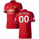 top shirt Manchester United 2018 Home Custom Jersey SOCCER - Red