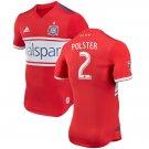 Matt Polster #2 Chicago Fire 2018 MLS SOCCER Player Jersey