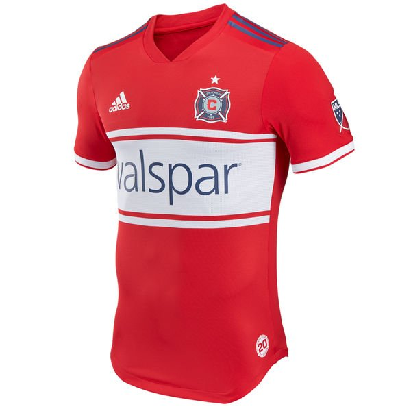 purchase cheap a499a be95e Men's Chicago Fire 2018 HOME MLS SOCCER Jersey