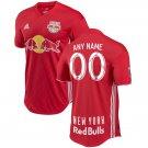 New York Red Bulls Red 2018 Away MLS SOCCER Custom Jersey
