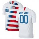 Men's Nike USA 2018-2019 Home SOCCER Custom Jersey – White