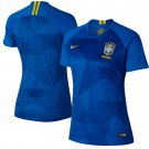 Brazil National Team  Women's 2018-2019 Away Jersey – Blue
