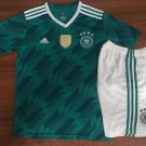 Germany away green World Cup 2018-2019 Jersey W Shorts Kid Youth For Age 3-13