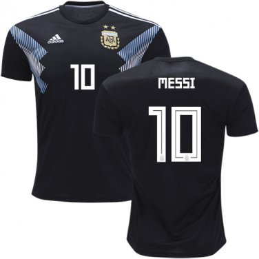 best service 4deea 7e9fa MESSI #10 Argentina away World Cup 2018-2019 Jersey W Shorts ...