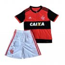 Flamengo RJ home 2018-2019 Jersey W Shorts Kid Youth For Age 3-13