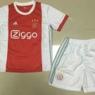 Ajax home Soccer 2018-2019 Jersey W Shorts Kid Youth For Age 3-13