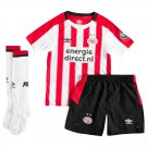 PSV home children's  2018-2019 Jersey W Shorts Kid Youth For Age 3-13