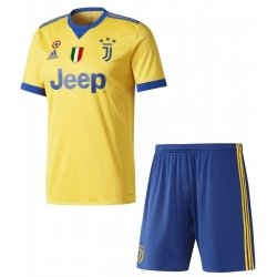 Juventus away 2018-2019 Jersey W Shorts Kid Youth For Age 3-13