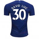 David Luiz #30 Chelsea 2018-2019 Primary Jersey New Free Shipping -BLUE