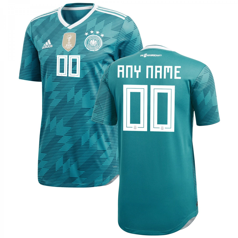 624aaef93 Men s Germany Away SOCCER 2018-2019 Custom Jersey – Green White