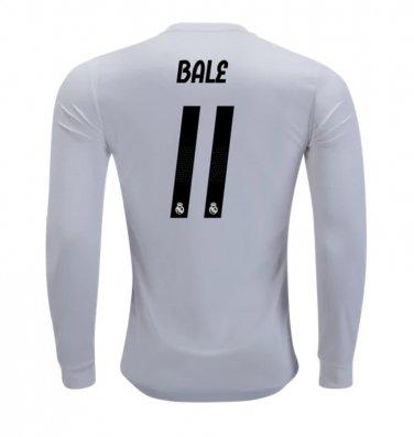 purchase cheap 1703b 3d797 Gareth Bale #11 Real Madrid Long Sleeve 2018-2019 Home ...