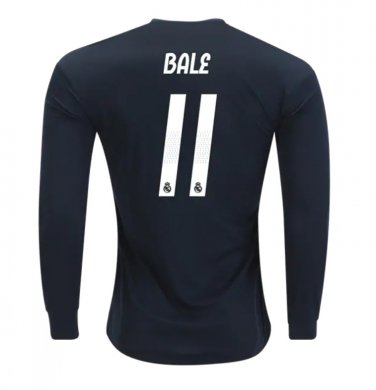 best service a2fb6 6eedd Gareth Bale #11 Real Madrid Long Sleeve 2018-2019 away Jersey New Free  Shipping