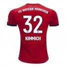 Joshua Kimmich #32 Bayern Munich Home 18/19 Jersey New Free Shipping