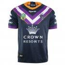Fan Shirt Melbourne Storm 2018 NRL Home Jersey Adults, Sizes S-3XL