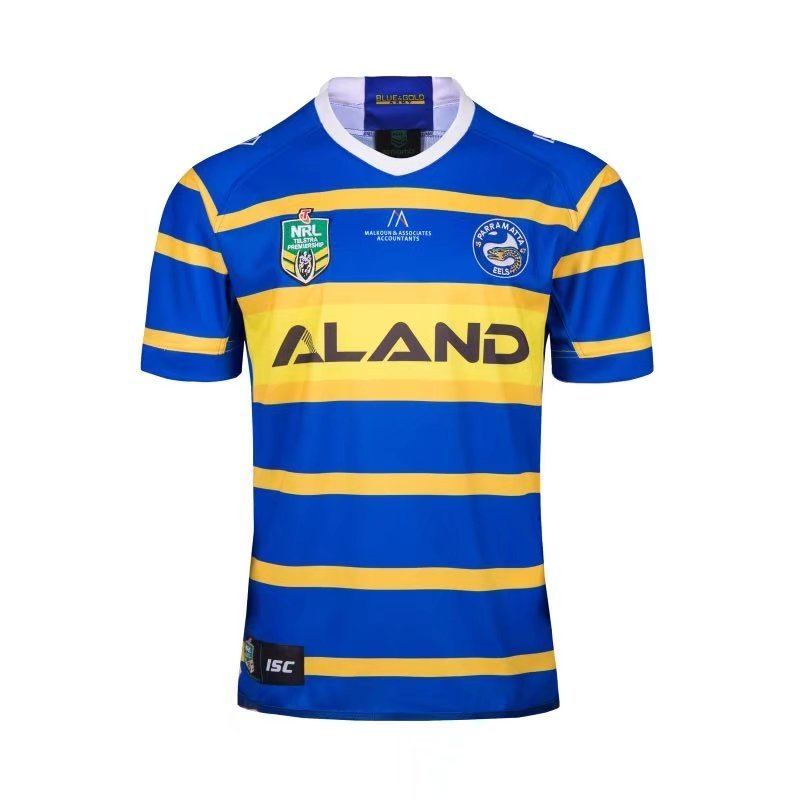2018-2019 NRL Rugby Jersey Eels Home Men's jerseys