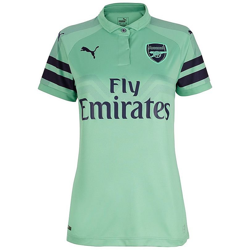 Arsenal Third women  soccer JERSEY -Blue 2018/2019
