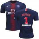 Gianluigi Buffon #1 FC Paris Saint-Germain 2018/2019 Home Jersey -Blue/Red