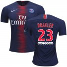 Julian Draxler #23 FC Paris Saint-Germain 2018/2019 Home Jersey -Blue/Red
