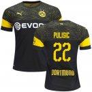Christian Pulisic #22 Borussia Dortmund 2018/2019 AWAY Jersey - Free Shipping