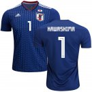 Eiji Kawashima  #1 Japan Men Football Soccer Jersey Home Samurai Blue #Asiancup 2019