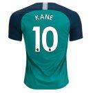 Harry Kane #10 Tottenham Hotspur 2019 SOCCER Third Jersey BLUE-GREEN