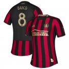 Ezequiel Barco #8 Atlanta United FC 2019-2020 MLS Star and Stripes Team Custom Jersey