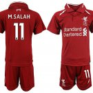 Liverpool home Soccer 2018-2019 Jersey W Shorts Kid Youth For Age 3-13