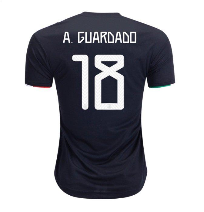 Andres Guardado #18 MEXICO 2019-2020 Home SOCCER Jersey -BLACK