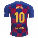 Lionel Messi #10 BARCELONA 2019/2020 Home Player Jersey - red/blue