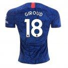 Giroud #18 Chelsea 2019-2020 Home soccer jersey