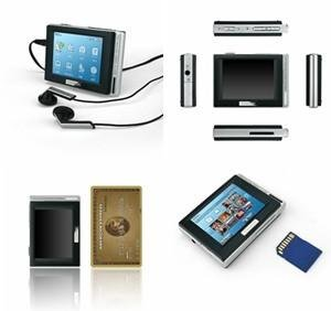 """Cowon D2 4GB Portable Media Player with 2.5"""" Screen D2-4096BL (Black)"""
