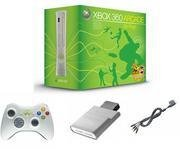 Xbox 360 Arcade System - 5 Games, Wireless Controller and Family Settings