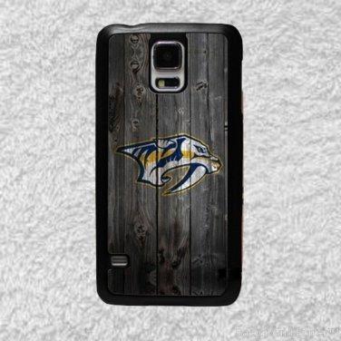 Nashville Predators Smart Phone Hard Case for Samsung or iPhone - NHL Wood Style Design for Cell