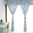 Cotton Curtain Printed Window Curtain for Living room Kitchen Kids