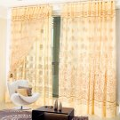 Luxury Curtain Window Curtains for Living Room Elegant Home Decoration