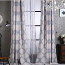 Modern style cotton blackout curtain for living room window custom made
