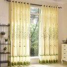 Korean Bedroom Windows Semi-shading Curtain Printing Tree Cartoon Curtains for Living Room Children